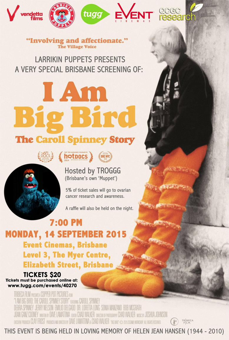 I Am Big Bird Brisbane