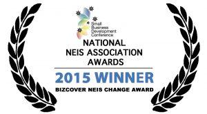 BizCover NEIS Change Award Logo 2
