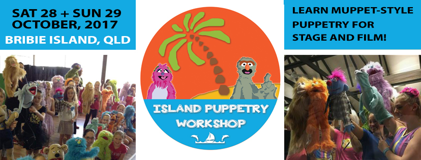 Facebook cover Island Puppetry Workshop