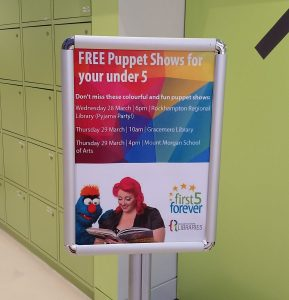 Children's Entertainment, Children's Entertainers, Party Entertainment For Hire | Puppet Show, Puppetry Workshops - Library Story Time, First 5 Forever, Rockhampton Regional Libraries