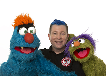 Children's Entertainment, Children's Entertainers, Party Entertainment For Hire | Puppet Show, Puppetry Workshops - Larrikin Puppets, Brett Hansen