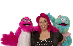 Children's Entertainment, Children's Entertainers, Party Entertainment For Hire | Puppet Show, Puppetry Workshops - Larrikin Puppets, Elissa Jenkins, Flossy, Marina