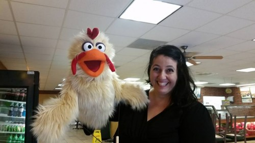 Children's Entertainment, Children's Entertainers, Party Entertainment For Hire | Puppet Show, Puppetry Workshops - Larrikin Puppets, Elissa Jenkins, Freerange the Chicken