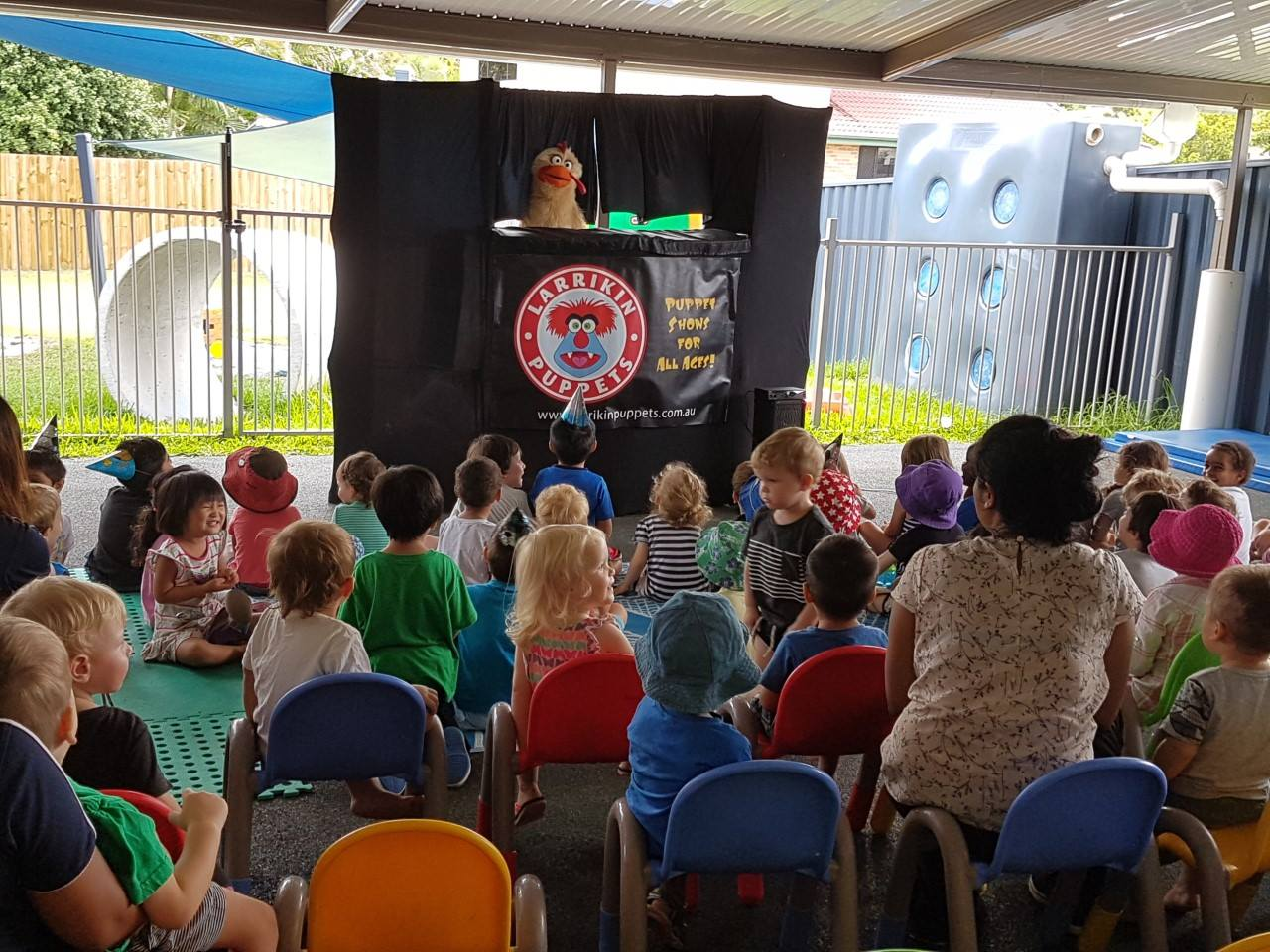 Children's Entertainment, Children's Entertainers, Party Entertainment For Hire | Puppet Show, Puppetry Workshops - Childcare Centres, Early Learning Centres, Taigum Child Care Centre