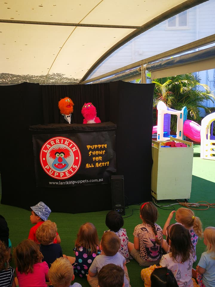 Children's Entertainment, Children's Entertainers, Party Entertainment For Hire | Puppet Show, Puppetry Workshops - Childcare Centres, Nurseryland Childcare Early Learning Centres