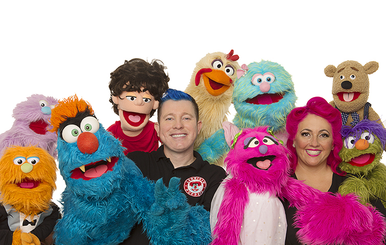 Children's Entertainment, Children's Entertainers, Party Entertainment For Hire   Puppet Show, Puppetry Workshops - Childcare Centres, Larrikin Puppets