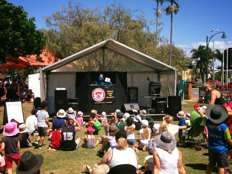Children's Entertainment, Children's Entertainers, Party Entertainment For Hire | Puppet Show, Puppetry Workshops - Fetes and Festivals, Redcliffe Sails Festival