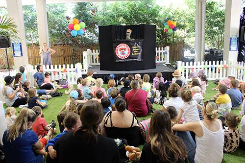 Children's Entertainment, Children's Entertainers, Party Entertainment For Hire | Puppet Show, Puppetry Workshops - Fetes and Festivals, Sunshine Coast Teddy Bear Fair