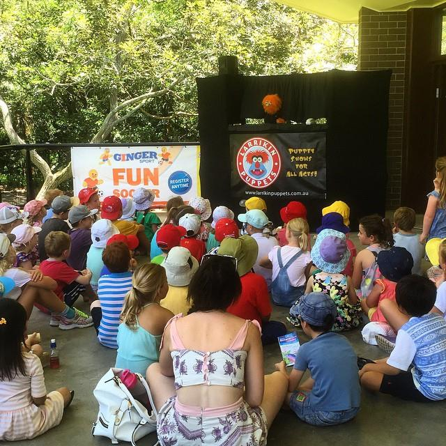 Children's Entertainment, Children's Entertainers, Party Entertainment For Hire | Puppet Show, Puppetry Workshops - Fetes and Festivals, Brisbane Botanic Gardens Mt Coot-tha, School Holiday Fun