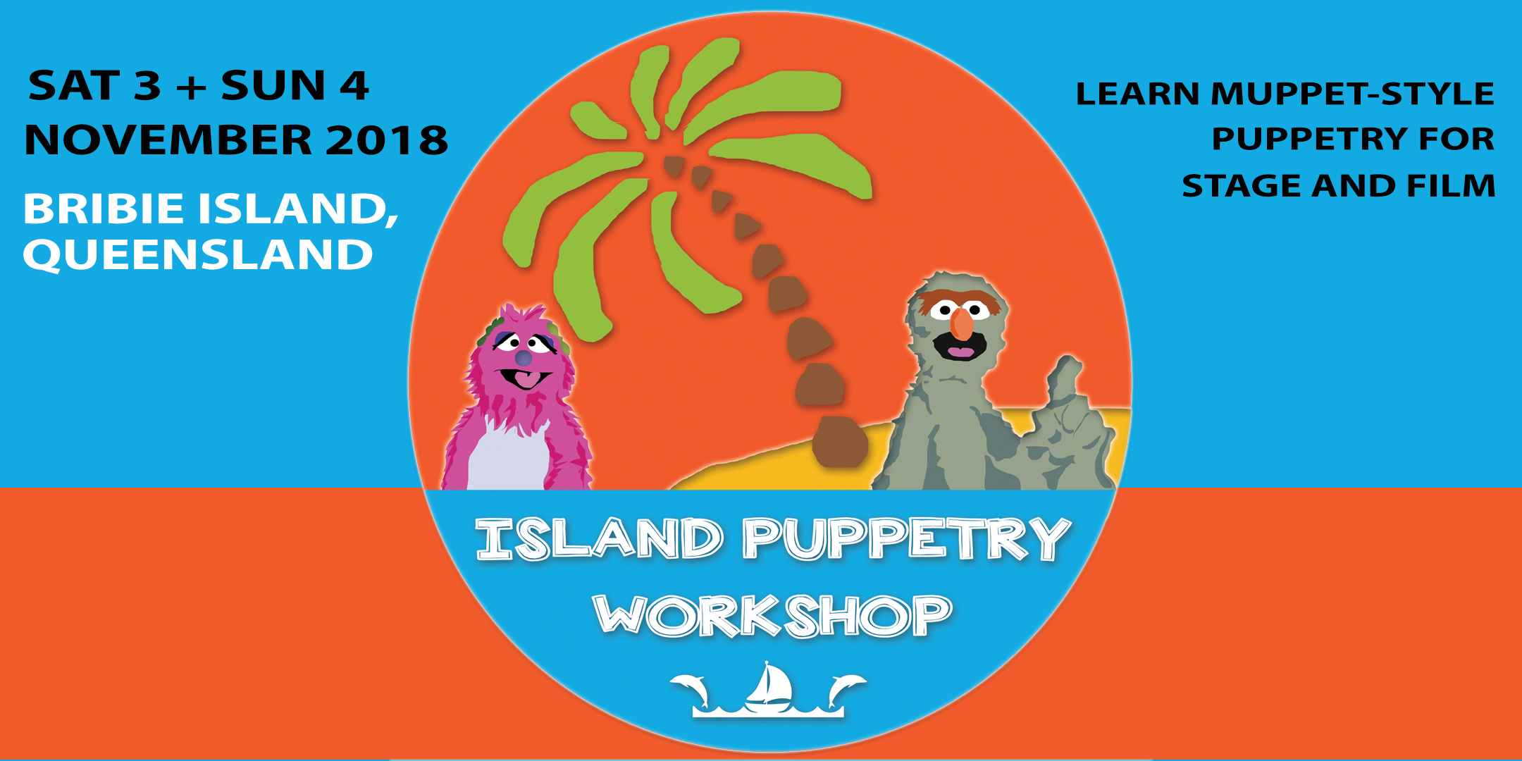 Children's Entertainment, Acting Classes, Theatre Courses, Drama Workshop | Puppet Show, Puppetry Workshops, Puppet Workshop, Puppetry Class, Puppet Class - Island Puppetry Workshop, Bribie Island, QLD, Australia