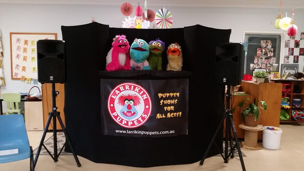 Rainbow Family Story Time Puppet Show