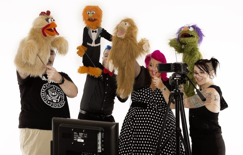 Corporate Entertainment - Show of Hands: Improv Comedy Puppet Show