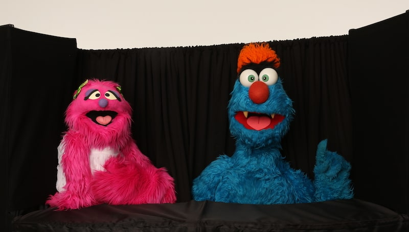 Corporate Entertainment - Puppets At Work - Puppet MC - Troggg And Flossy