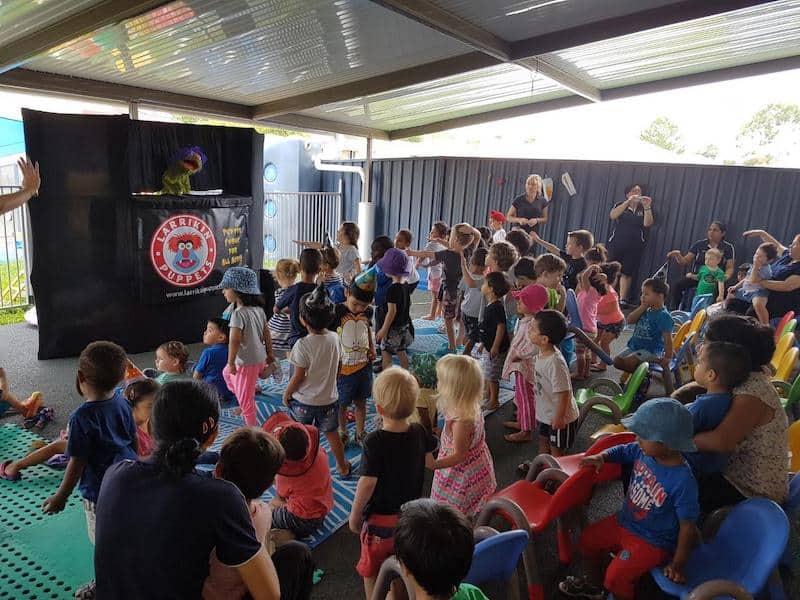 Puppet Show - Childcare Centre - Kindergarten - Dancing