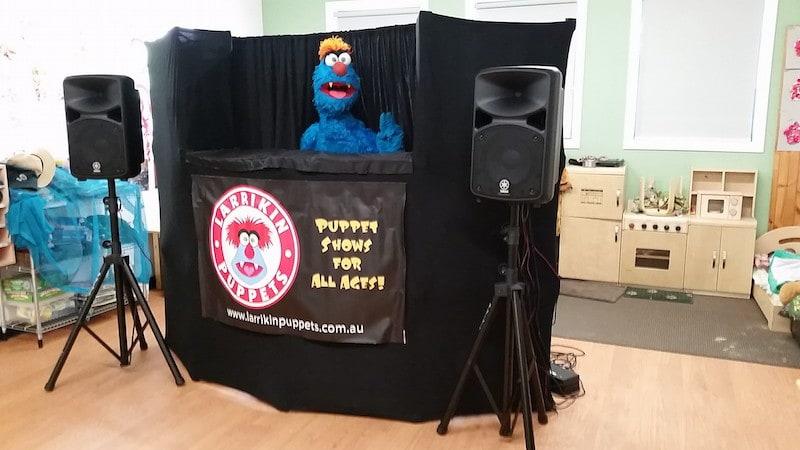 Puppet Show - Childcare Centre - Kindergarten - Troggg - Brisbane