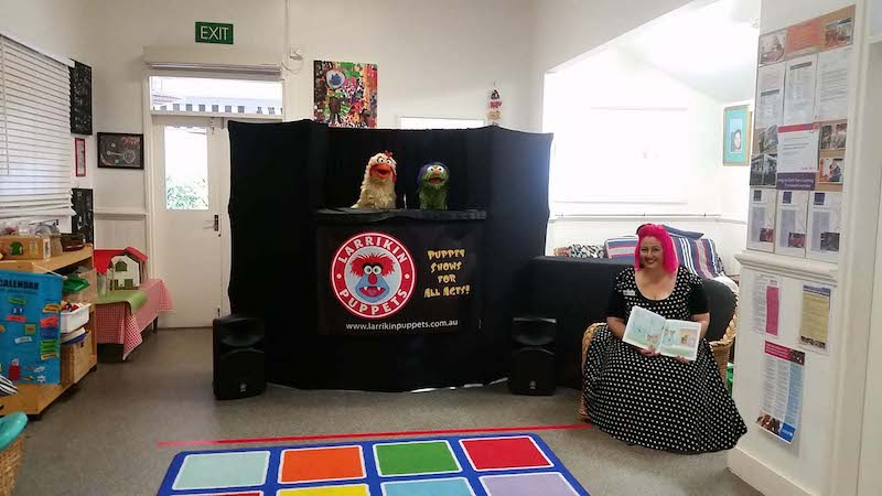 Puppet Show - Childcare Centre - Kindergarten - Story Time - Clayfield