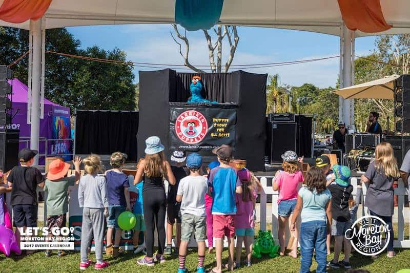 Puppet Show - Childrens Entertainers - Larrikin Puppets - Fetes and Festivals - Caboolture Family Fun Day