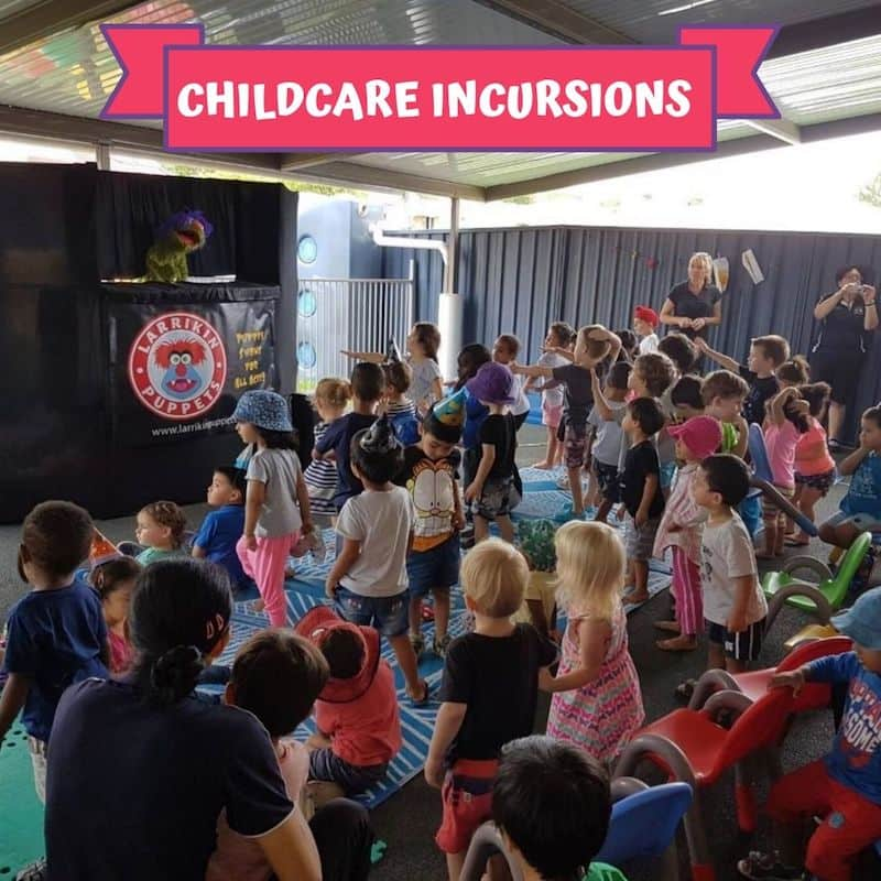 Puppet Show - Children's Entertainment - Childcare Incursions