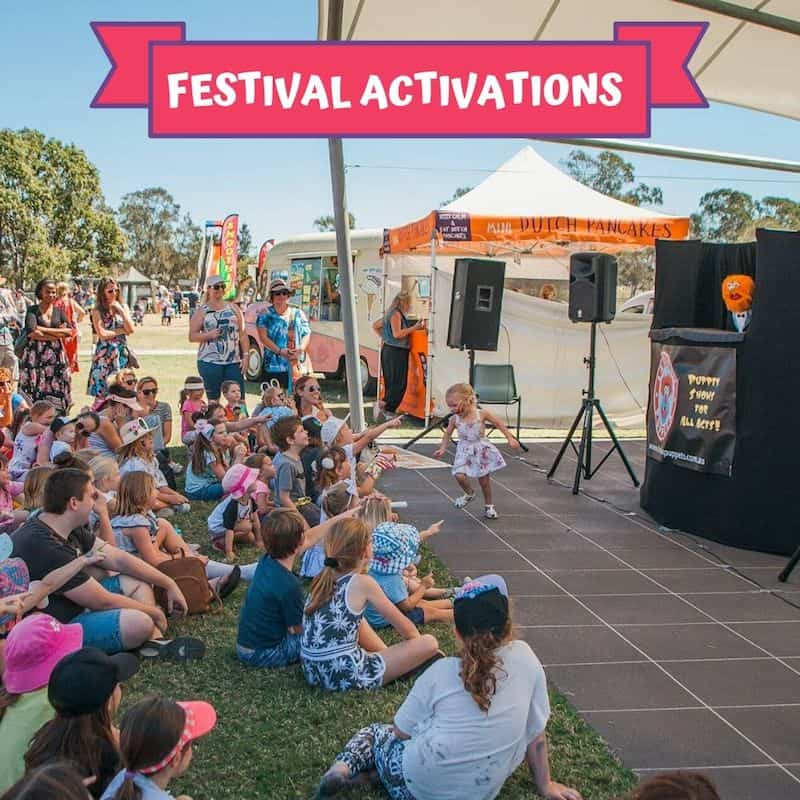 Puppet Show - Children's Entertainment - Festival Activations