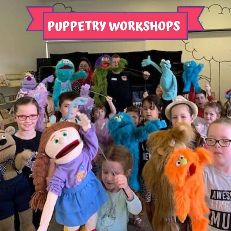 Puppet Show - Children's Entertainment - Puppetry Workshops