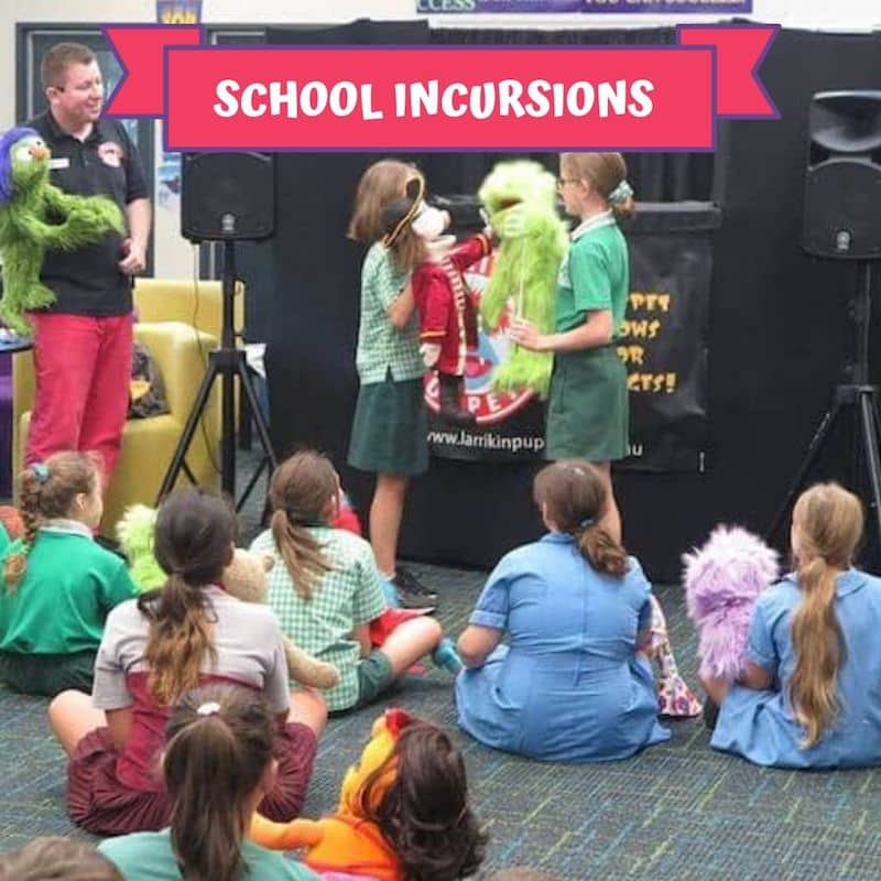 Puppet Show - Children's Entertainment - School Incursions
