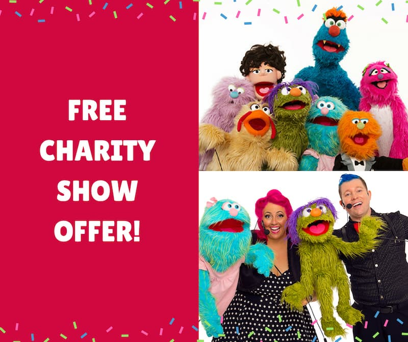 Puppet Show - Shopping Centres - Larrikin Puppets - Live Entertainment - Charity Shows