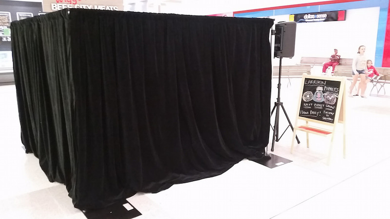 Puppet Show - Shopping Centres - Larrikin Puppets - Live Entertainment - Staging - Gracemere