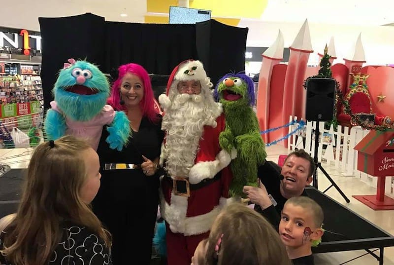 Themed Puppet Shows - Christmas Entertainment - Maryborough Shopping Centre