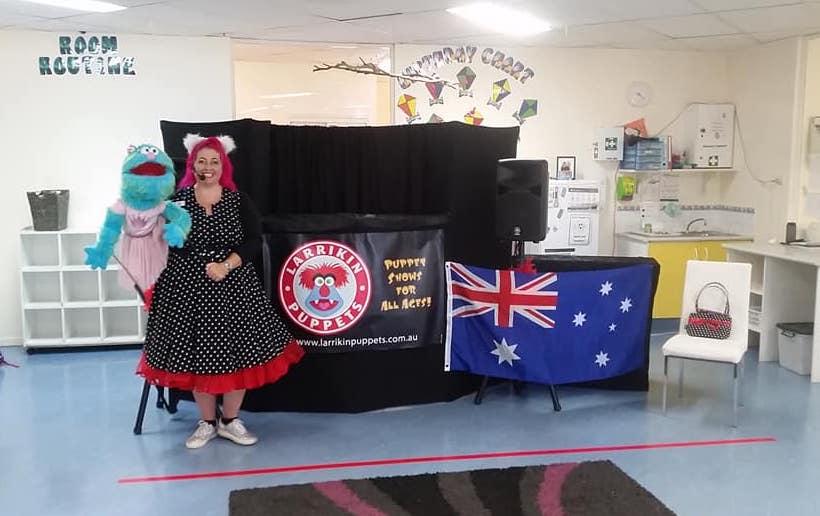 Australia Day Puppet Show