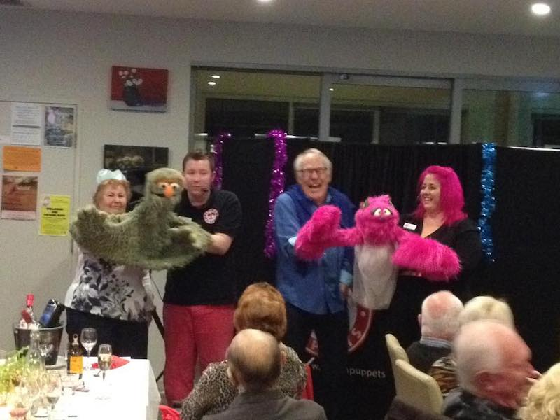 Aged Care - Puppet Show - Larrikin Puppets - Intergenerational Care