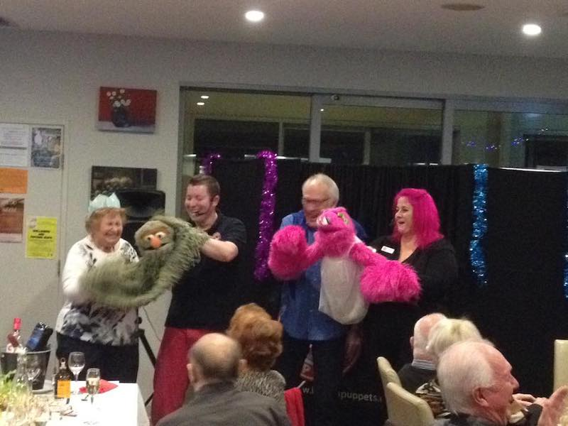 Aged Care - Puppet Show - Larrikin Puppets - Queensland