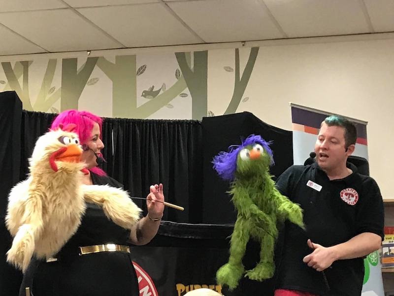Puppet Show - Kids Parties - Larrikin Puppets - Brisbane - Puppetry
