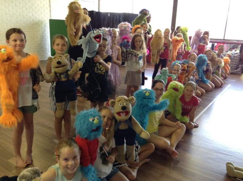 Puppet Show - Kids Parties - Larrikin Puppets - Brisbane - Workshop