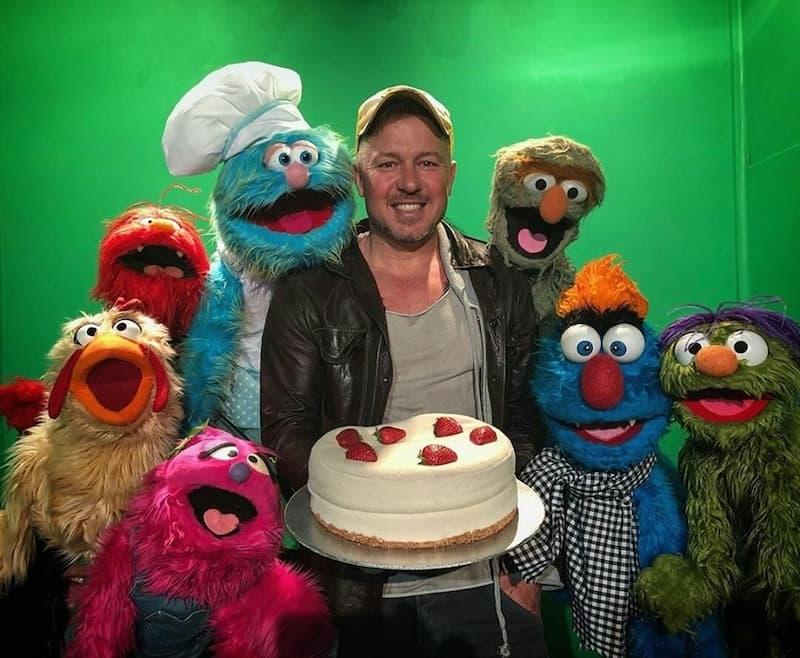Larrikin Puppets - Chef Jason Roberts - Sydney