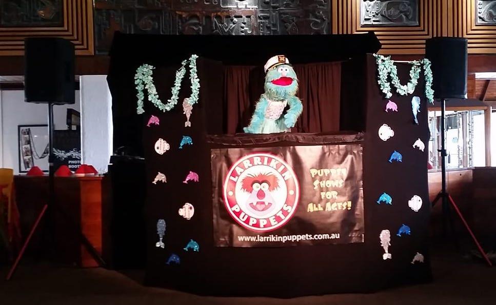 Marina's Marine Adventure Puppet Show - Children's Entertainment - Hamilton Island
