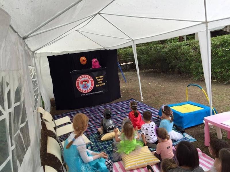 Puppet Show - Kids Birthday Parties - Larrikin Puppets - Brisbane