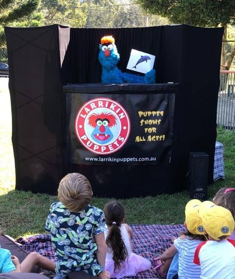 Puppet Show - Kids Birthday Parties - Larrikin Puppets - Brisbane - 5th birthday party
