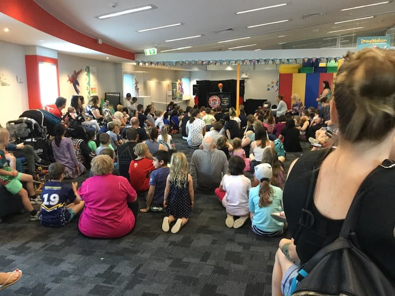 Puppet Show - Kids Entertainment -Larrikin Puppets - Library Activities For Kids - Council Libraries