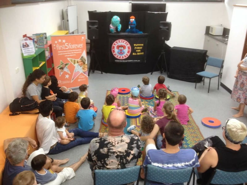 Puppet Show - Kids Entertainment -Larrikin Puppets - First 5 Forever