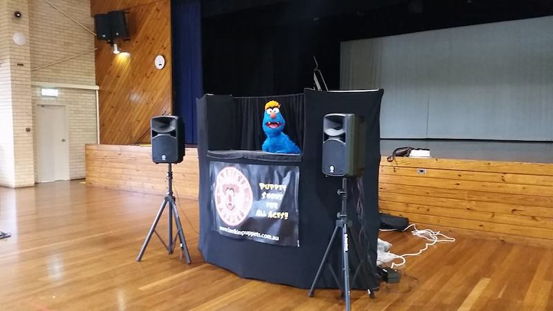 Puppet Show - Kids Entertainment - Larrikin Puppets - Vacation Care -OSHC - Workshop - Troggg