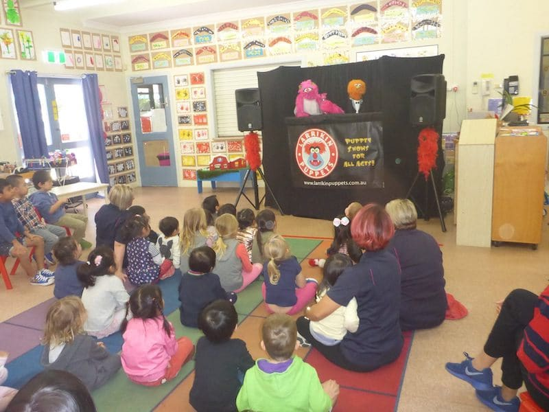 Health and Wellbeing Puppet Show Larrikin Puppets