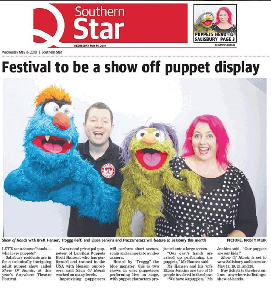 Puppet Show Media