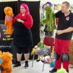 This image has an empty alt attribute; its file name is testimonial-bribie-community-arts-centre-puppet-show.jpg