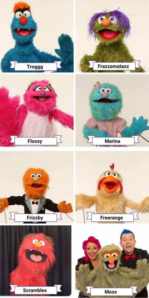 Poetry With Puppets: English Language Learning