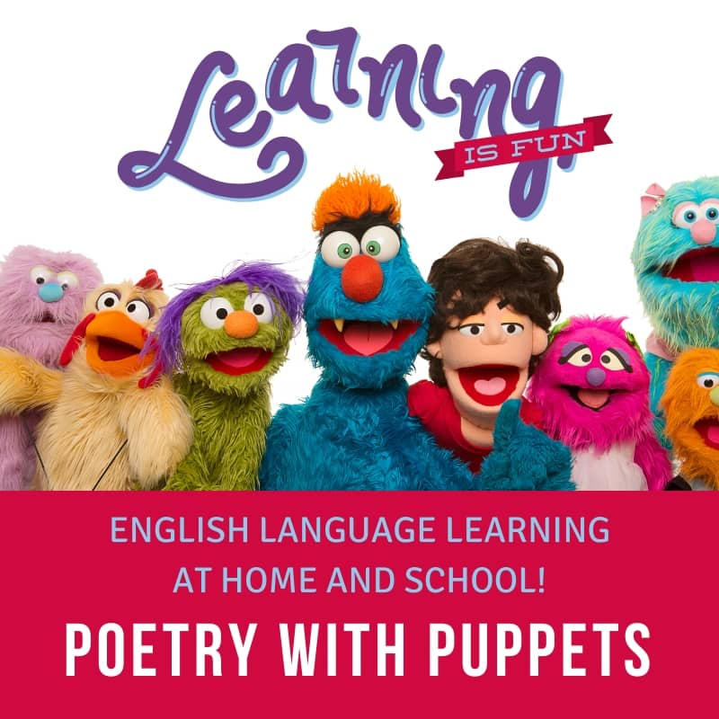 Poetry With Puppets - English Language Learning