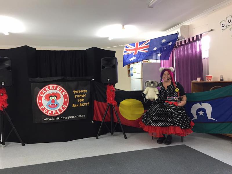 Puppet Show Australia Day Entertainment Larrikin Puppets