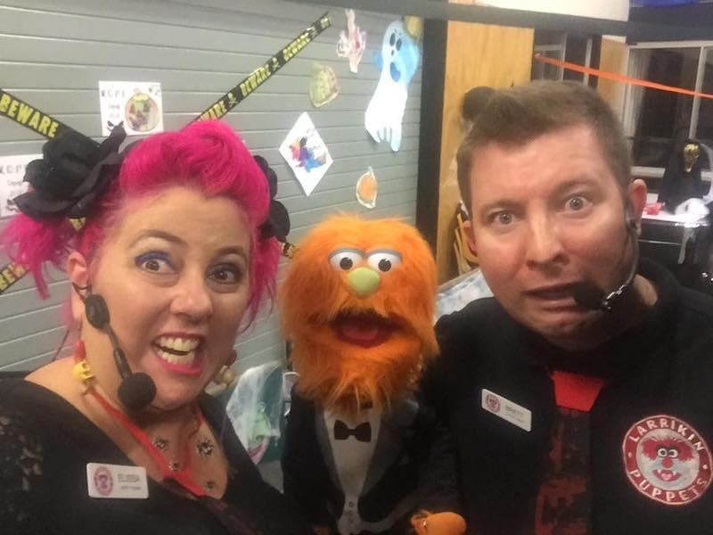 Puppet Show Halloween Larrikin Puppets