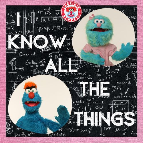 I Know All The Things - Electronic Dance Music For Kids - Alternative Australian Kids Music
