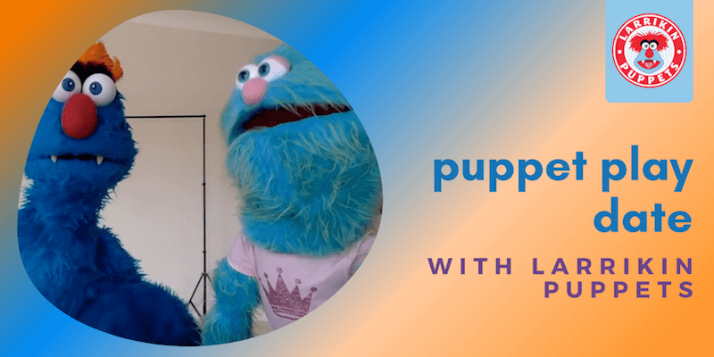 Puppet Play Date - Zoom Kids Activity