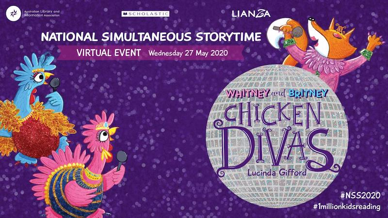 National Simultaneous Storytime with Larrikin Puppets